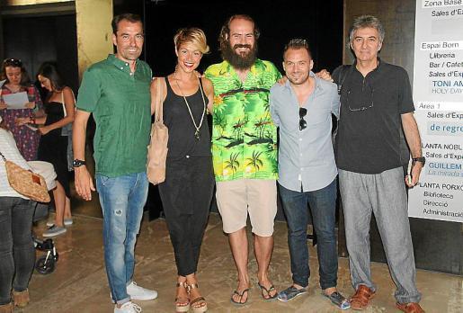 Juan Ochogavia, Vanesa Díaz, Toni Amengual, Tomeu Martí y Jaume Gual.