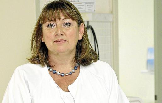 Leciñena durante su anterior etapa como coordinadora de Urgencias.