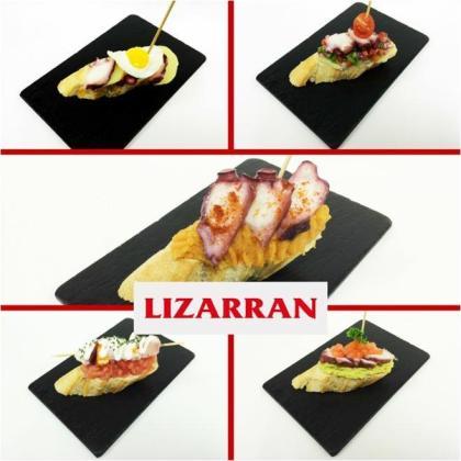 Los pinchos en Lizarran están de oferta, a 1 euro, los martes y los miércoles.