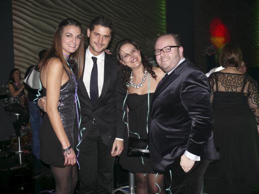 Aina Deiá, Nando Esteva, Apolonia Ordinas y Tommy Ferragut.