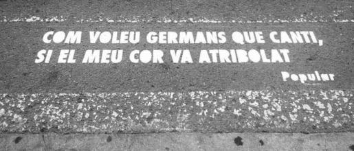 Un verso popular en las calles de Vila.