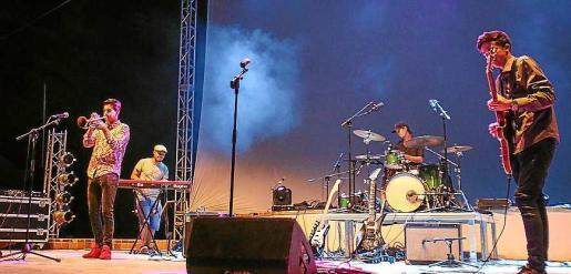 Omar Alcaide Quartet. Foto: TONI ESCOBAR