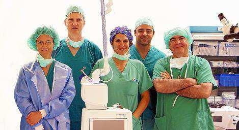 Imagen del equipo de Otorrinolaringología de Can Misses.