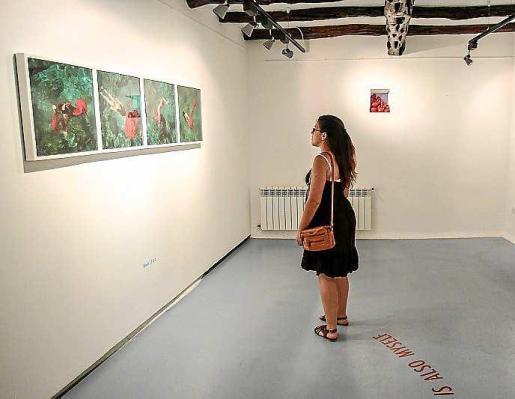 Una imagen de la exposición. Foto: TONI ESCOBAR