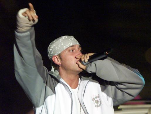 Aunque es más conocida su faceta de rapero, Eminem también ha hecho sus incursiones en el mundo del cine y la televisión.