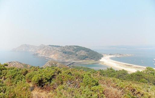 Las Islas Cíes son el mayor tesoro de la ría de Vigo.