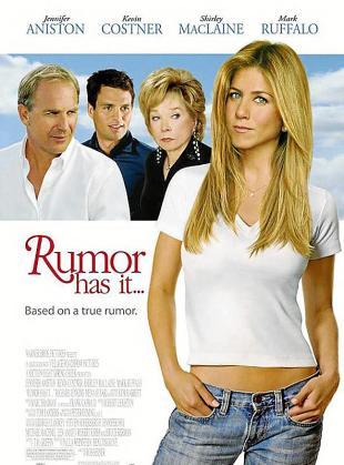 Cartel del film 'Corre el rumor... (Dicen por ahí)'.