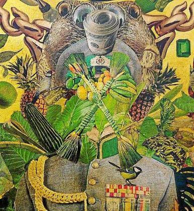 Obra República bananera del artista Alberto Gulias que se podrá ver en Km5.