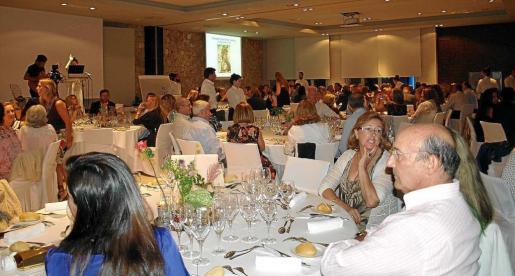 El Hotel Aguas de Ibiza ya acogió el pasado año la primera cena benéfica de esta asociación.