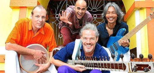 Imagen de archivo del grupo Prem Jushua&Band, participantes este jueves en Las Dalias.