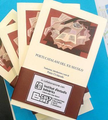 Portada de la antología 'Poeti catalani del XX secolo'.