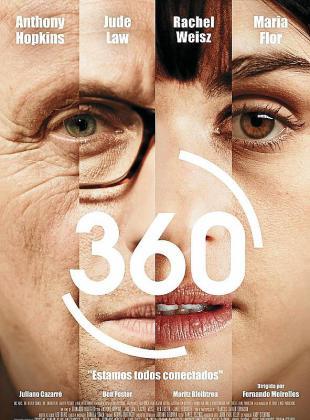 Cartel del film '360'.