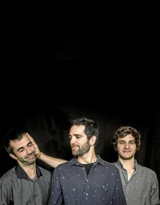 Josep Colls, Joan Solana y el ibicenco Joan Carles Marí son Threejay. Foto: JUAN MIGUEL MORALES