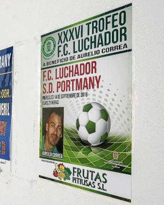 Una imagen del cartel promocional, en el Campo de Sant Antoni.