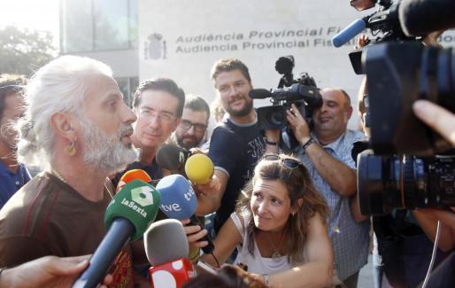 El exgerente de Imelsa Marcos Benavent, a su llegada a la Ciudad de la Justicia de Valencia el pasado jueves, donde fue citado a declarar por el titular del Juzgado de Instrucción número 18, que investiga el denominado caso Imelsa.