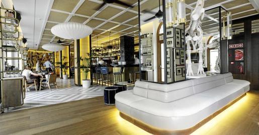 La parte hotelera se suma al espacio dedicado a la gastronomía.