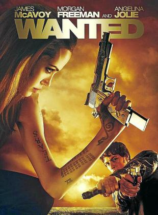Cartel de la cinta 'Wanted (Se busca)'.