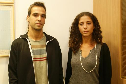 David Tur y Serena Perrotta han ganado el premio de la categoría gráfica del concurso 'Un dedo de espuma, dos dedos de frente'.