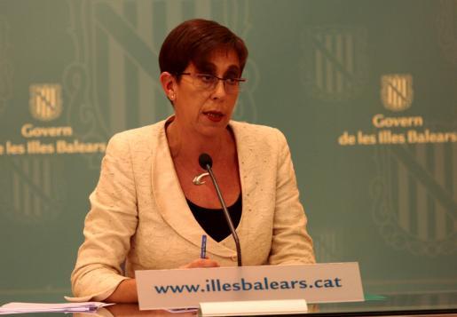 Joana Barceló, portavoz del Govern.
