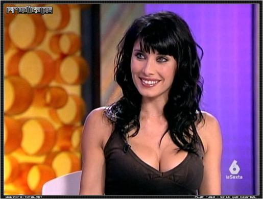 La presentadora Pilar Rubio.