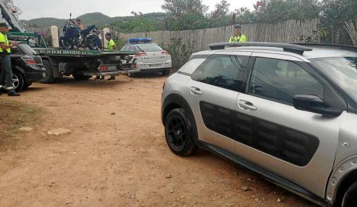 El siniestro de ayer se produjo en una semana especialmente accidentada para los motoristas con varios heridos graves en la carretera de Santa Eulària.