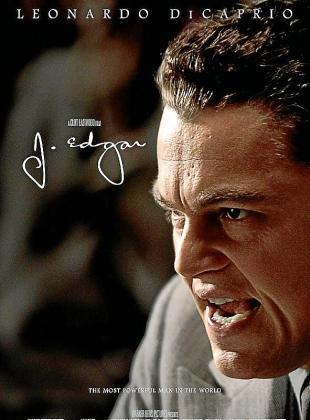 Cartel de la película 'J. Edgar'.