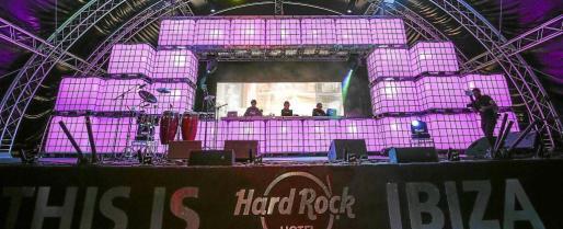 Una fotografía de la closing party de The Children of the 80's, el pasado domingo en el Hard Rock Hotel.