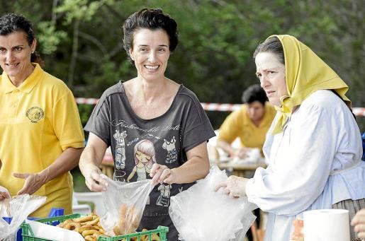 Los vecinos de Forada compartieron grandes momentos entre ellos y enseñaron a los turistas las tradiciones ibicencas.