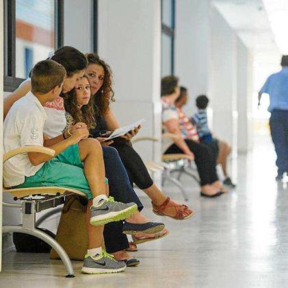 El aumento de ausencias ha ido en consonancia con el incremento de la actividad en consultas.