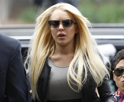 Además de problemas con las drogas, Lindsay Lohan parece tener ahora problemas económicos.