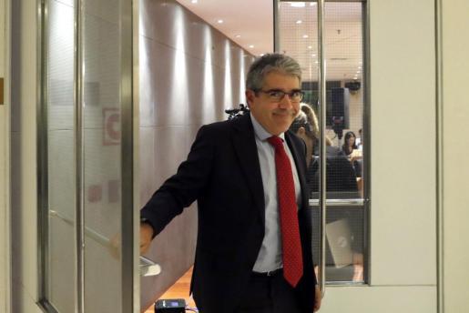 El portavoz del Partit Demòcrata Europeu Català (PDECat) en el Congreso, Francesc Homs.