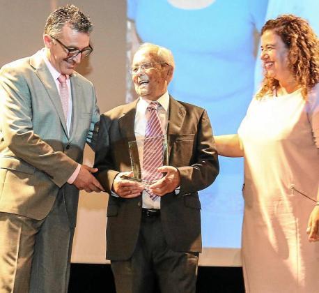 Francisco Ramón Marí recibió el 8 de octubre el Premio PIMEEF a la Trayectoria y al fomento del Espíritu Empresarial. Foto: T. E.