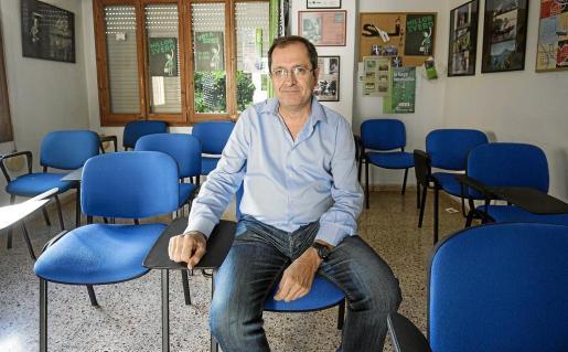 Ramon Mondéjar Coll, en la sede del STEI de Ibiza la semana pasada.
