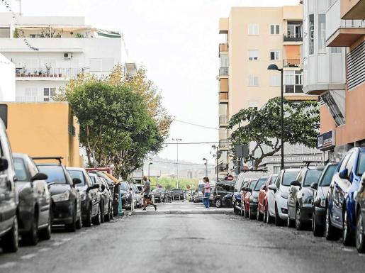 Imagen de la calle dedicada a Gotarredona, en Vila. Foto: TONI ESCOBAR