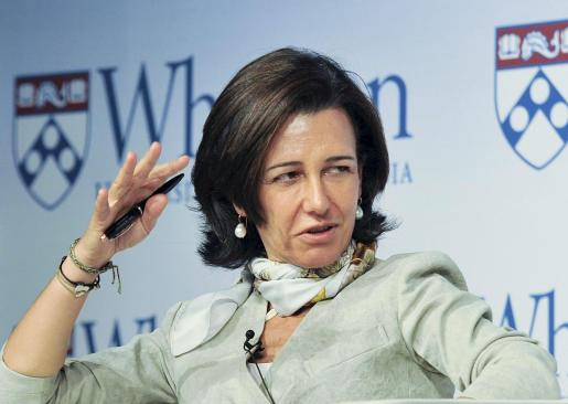 Foto de archivo de la presidenta de Banesto, Ana Patricia Botín, que dejará su cargo para dirigir la filial británica del Santander.