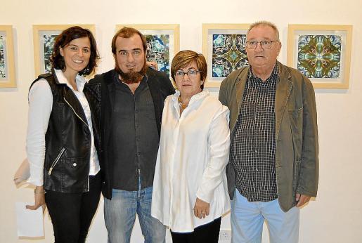 Cristina García, Albert Lerycke, Catalina Cerdà y Noel Lerycke.