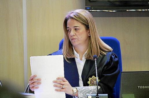 Samantha Romero, magistrada ponente del juicio del 'caso Nóos'.