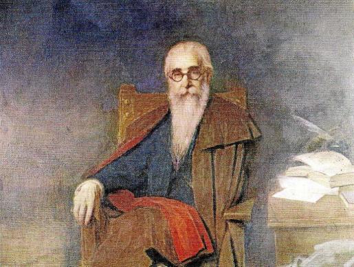 Uno de los mejores retratos de Anselmo Miguel, el de Valle Inclán.