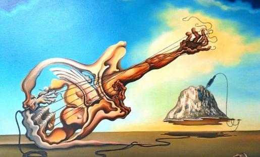 Una de las características y originales obras surrealistas de Madame Dalí que se podrán ver en la exposición.