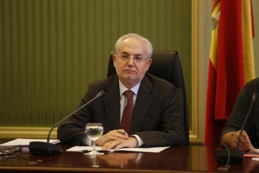Lluís Segura, durante su comparecencia.
