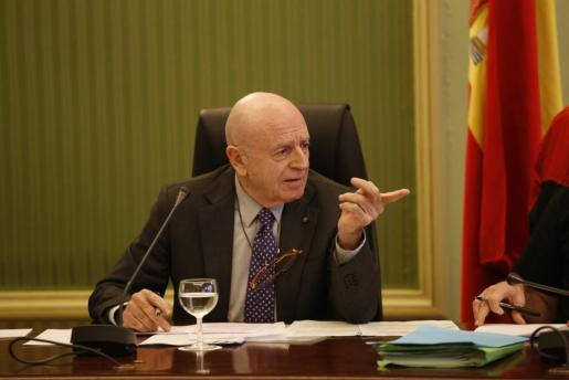 El empresario Abel Matutes declara este viernes ante la comisión de investigación del Parlament balear por las autopistas de Ibiza.