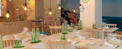 El restaurante Marea se encuentra en la Platja de Palma.