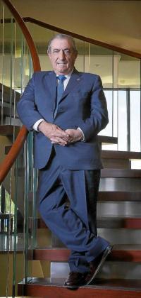 Juan José Hidalgo, en su sede madrileña, califica de «anécdota bancaria» los problemas que el Banco de Crédito Balear, Es Crèdit, le planteó en 1991.