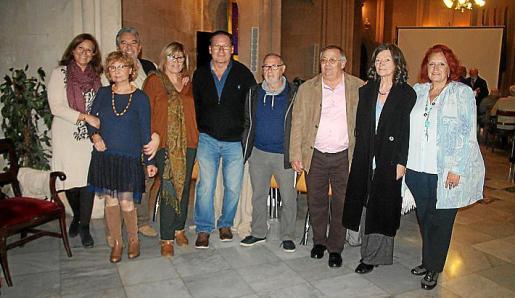 Margarita Miralles, Isabel Santandreu, Toni Mascaró, Fina Crespí, Lluís Miquel Sancho, Agustí Garau, Pep Ramis, Brunhila Seeler y Teresa Mir.