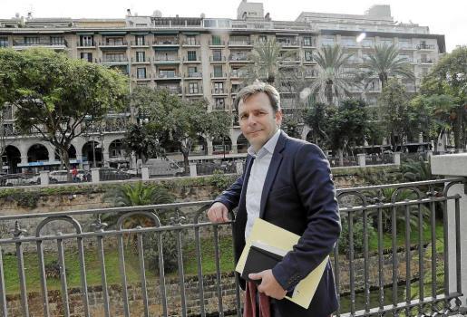 Juan Estarellas reclama el mismo trato que los hoteleros para las viviendas turísticas. Foto: JAUME MOREY