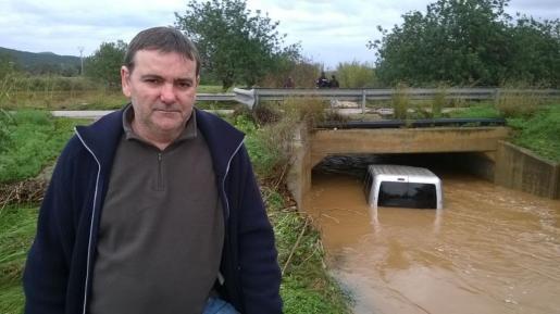 Antonio Linares sobrevivió a la inundación. Foto: RENATO STEINMEYER