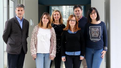 Equipo de investigadores responsables del estudio difundido por la UIB.