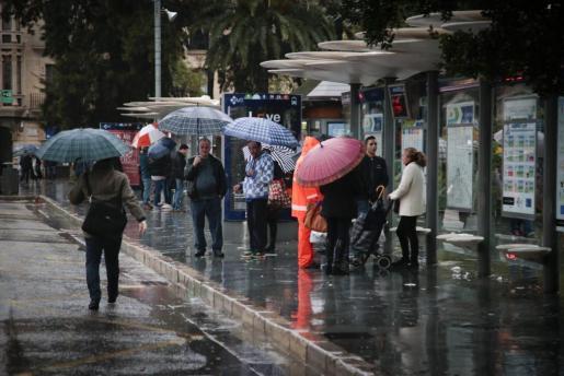 Este martes y miércoles aún podrá seguir lloviendo en Baleares.