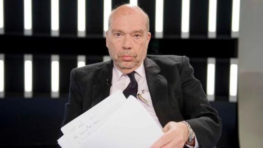 Alfons Quintà en un programa de televisión.