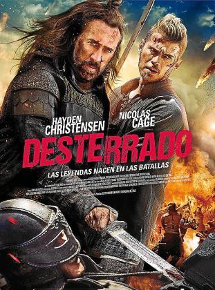 Cartel del film 'Desterrado'.